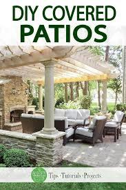diy covered patio ideas