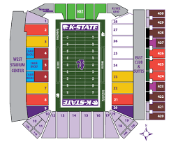 Kansas State University Online Ticket Office Seating Charts