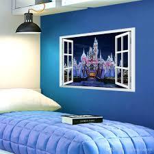 wall decals window fantasy princess prince castle window view wall sticker  decal fantasy princess prince castle