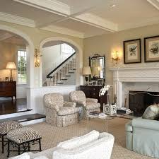 Living Room, Beautiful Living Rooms With Carpet And White Sofa And Blue  Sofa And Fireplace
