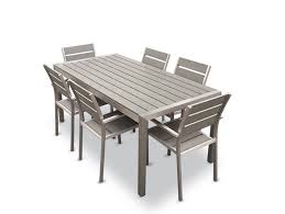 Appealing Aluminum Outdoor Table 20 Sturdy Sets Patio Furniture