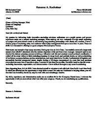 Targeted Cover Letter Sample Targeted Cover Letter Examples Resume