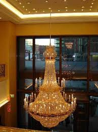 the ritz carlton berlin lobby chandelier the leader of the multi thronged
