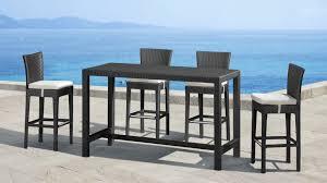 Beautiful Bar Height Patio Furniture Sets Bar Height Outdoor Outdoor Pub Style Patio Furniture