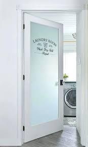 sliding door ideas laundry room doors frosted glass etched laundry room door laundry room sliding door
