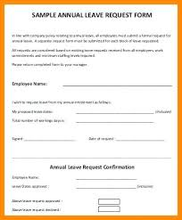 vacation forms for employees sample leave form employee record form template sample leave simple
