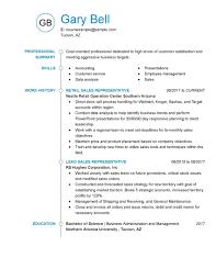 Resume Objectives For Customer Service Resume