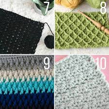 crochet stitches for blankets and afghans  make  do crew