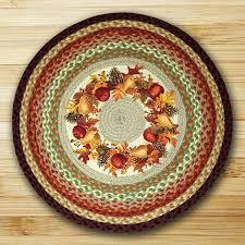 autumn wreath braided jute rug by capitol earth rugs