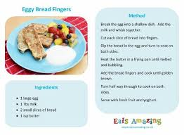 Easy Recipes For Kids Eggy Bread Fingers