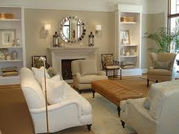 Walls are painted Shaker Beige and trim is Navajo White, both by Benjamin  Moore.