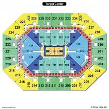 Target Center Seating Chart Seating Chart