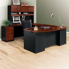 wrap around office desk. Executive Bowfront U-Desk With Hutch - 72\ Wrap Around Office Desk A