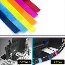 20pcs/lot Bobbin winder Cable Wire Organiser Management Marker Holder Cord  Ties magic tape Lead