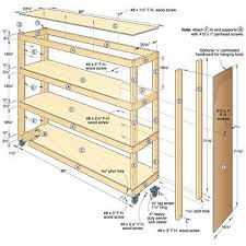 garage cabinets plans. free plans to build garage shelving using only http kkeeyy 2013 01 storage shelf for l 2012 10 how shelves cabinets