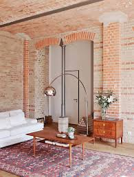 how to decorate with exposed brick walls
