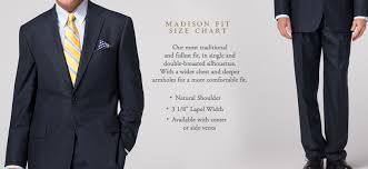 Brooks Brothers Dress Shirt Size Chart Brooks Brothers Suit And Sport Coat Fit Guide 2nd Rodeo