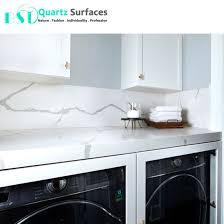 iso nsf sgs certificated white prefab quartz bath vanity tops