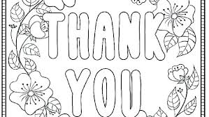 Thank You Card Coloring Page Thank You Coloring Pages Thank You
