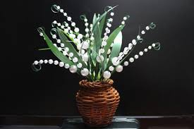 Small Picture DIY Crafts for Home Decor Make A Fake Flower with Pearls Nbeads