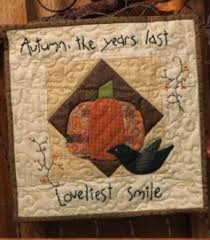 Primitive Quilts and Projects Magazine & Quick View · Autumn Smile by Laural Arestad Adamdwight.com