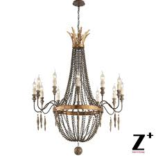pare s on wooden chandelier beads ping low model 13