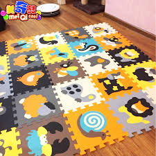 18pcs cartoon animal pattern carpet eva foam puzzle mats kids floor puzzles play mat for children baby