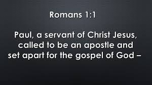 power of a personal mission statement chris papazis first it states who he is paul a servant of christ jesus next it lays out what he does called to be an apostle finally it brings who he is and what