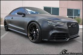 matte black audi. audi matte black rs5 with hre three piece wheels