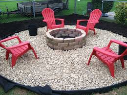 modern plastic adirondack chairs for your outdoor seating cool outdoor patio with firepit and red