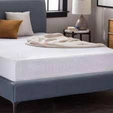 California king mattress Eastern Dual Layer Gel Memory Foam Mattress The Home Depot Lucid California King Mattresses Bedroom Furniture The Home