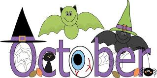 Month of October Halloween Clip Art - Month of October Halloween Image | Halloween  clipart, Arts month, October halloween