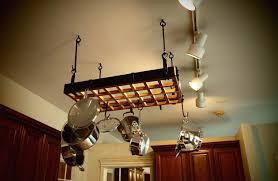 pot rack chandelier low ceiling hanging pot rack eldridge pot rack chandelier