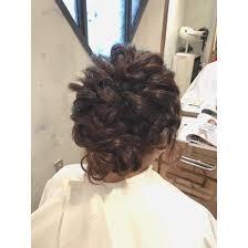 成人式にも合う編み込みアップ Corona Hairdesignフリー