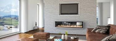 3 sided gas fireplace ideas two corner insert brick wall adds lots double s