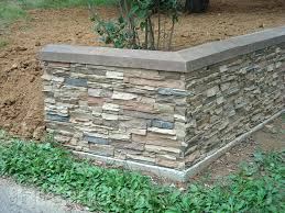 slate retaining wall covering concrete retaining walls to give them a finished look is easy natural