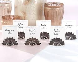 Place Card Holder Template Placecard Holder Antiqued Fan Place Card Set Of 6 Avery