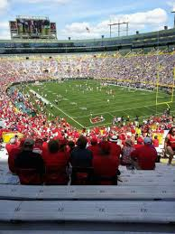 Wisconsin Camp Randall Seating Chart Camp Randall Stadium Section 134 Home Of Wisconsin Badgers