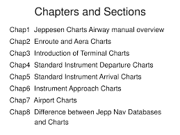 Ppt Jeppesen Charts Powerpoint Presentation Free Download