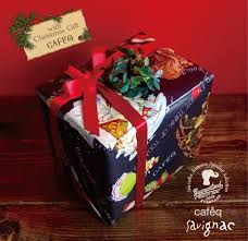 Artmag with exclusive gift-wrapped for Christmas, cafe, 1 q Savignac Mag +