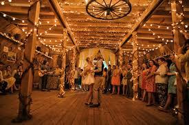 photo credit josh golemanpin it barn wedding lights