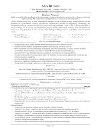 Awesome Business Analyst Resume Examples Cover Letter Logistics