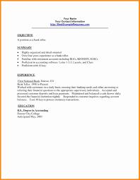 15 16 Resume For Banker Position 626reserve Com