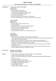Resume For Banking Jobs Best Of AR Clerk Resume Samples Velvet Jobs