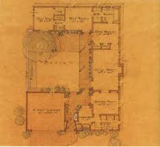 referring back to the sketch of a 1932 cliff may spec house here is the floor plan