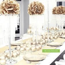breathtaking wedding chandelier centerpieces 0