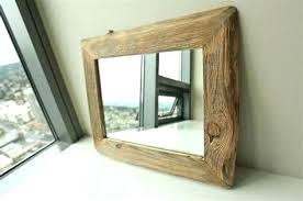 rustic wood framed mirrors. Mirrors Wood Framed Frame Floor Mirror Reclaimed Frames With Antique . Rustic