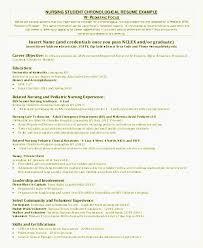 Nursing Resume Objectives Examples Embersky Nurse Resume Objective