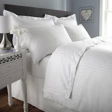 300 tc duvet cover double size premium cotton striped