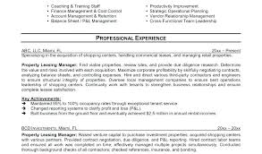 Apartment Leasing Agent Resume Llun Extraordinary Leasing Agent Resume